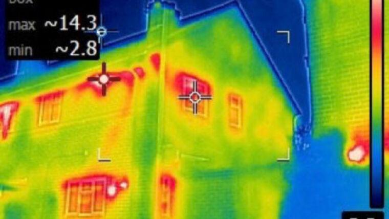 Thermal imaging - prevent heat loss