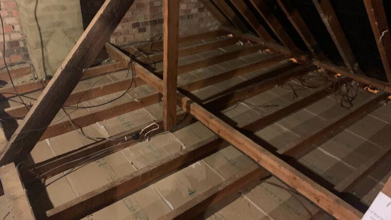 Loft insulation removal