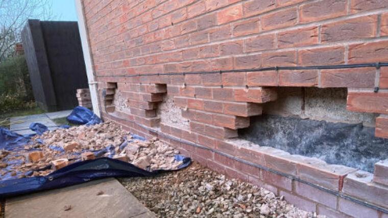 Cavity wall services