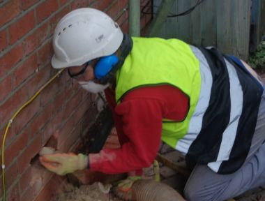 How Is Cavity Wall Insulation Removed?