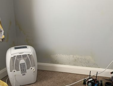 Why wet cavity wall insulation occurs